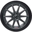 "Performance Wheel 45.72 cm (18"") lightweight flow-form summer complete wheel with Ford Performance logo, 10-spoke design, Magnetite Matt"